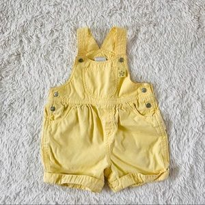 Vintage Carter's Yellow Overalls